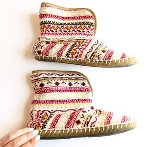 American Eagle Outfitters Fur Slipper Bootie